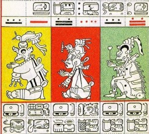 gates-edition-of-dresden-mayan-codex-1932-pictograph